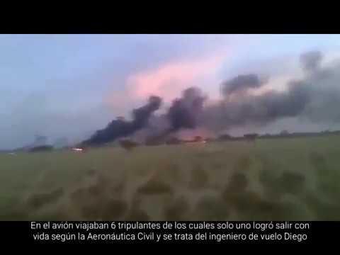 Accidente del Avión Boeing 727 de Aerosucre en Colombia