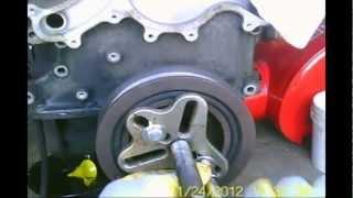 2002 ford explorer 4 0l how to remove a harmonic balancer