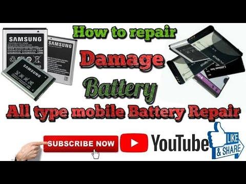 Repair Dead Battery, How To Repair Dead Battery,mobile Battery Repair