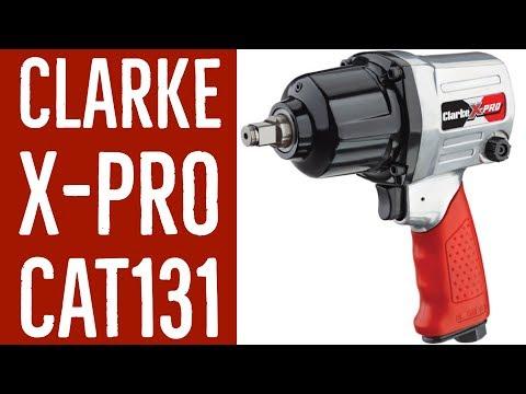 Clarke X-Pro Professional 3//8 Keyless Reversible Air Drill-CAT137
