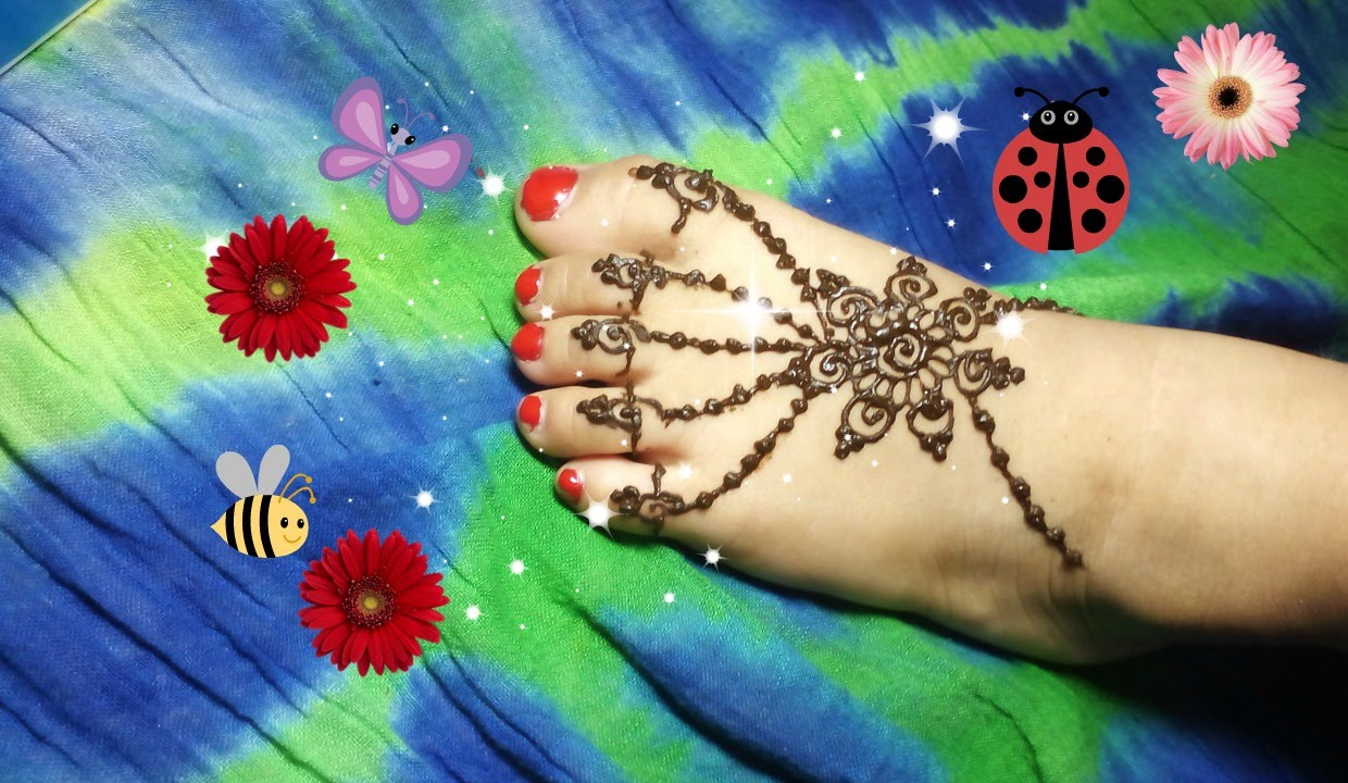 Mehndi Designs for kids by beauty subashy 2018,2019