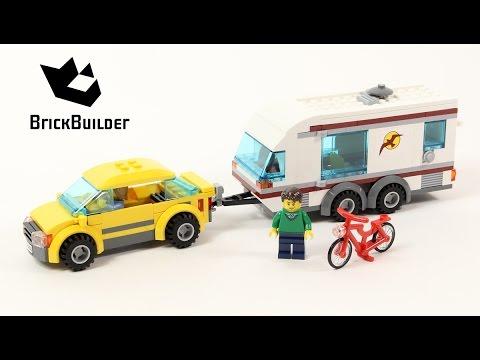 Lego City 4435 Car And Caravan Sd Build