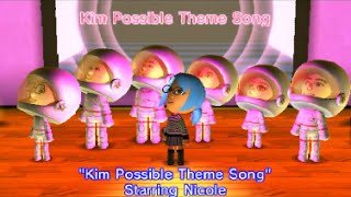 Tomodachi Life Sings Kim Possible Theme Song