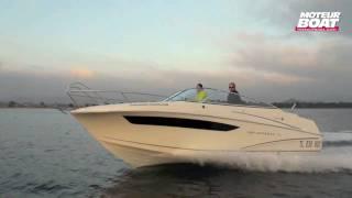 JEANNEAU CC 7.5 DC - Essai moteurboat.com