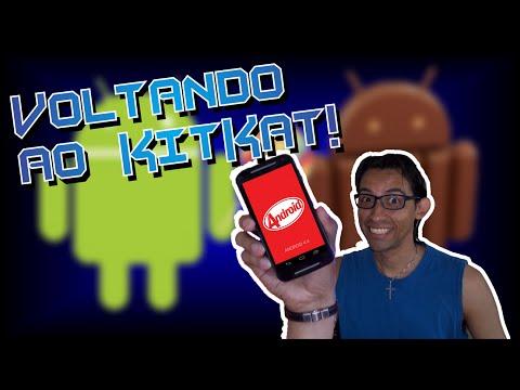 DOWNGRADE - Como Reinstalar O KitKat No Moto G De 2ª Geração!