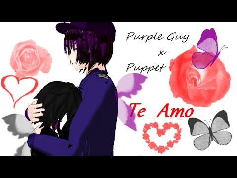te amo purple guy x puppet youtube