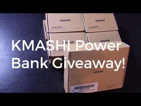 KMASHI Power Bank Giveaway! (CLOSED)