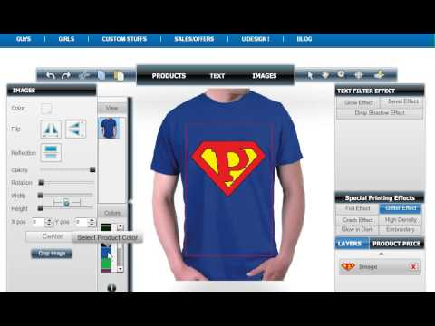 Customizable Superman Logo Initial Mens T Shirt Youtube
