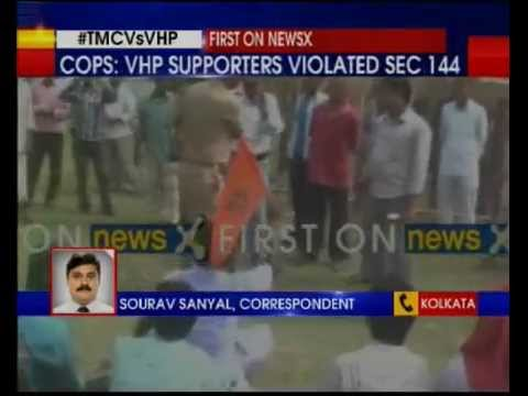 West Bengal police arrests 300 VHP activists from Raiganj