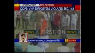 West Bengal police arrests 300 VHP activists from Raiganj