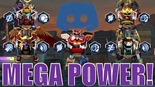 Mega Power!  Power Rangers Legacy Wars Challenge