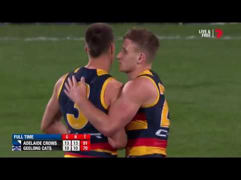 Round 18 AFL - Adelaide Crows v Geelong Cats Highlights