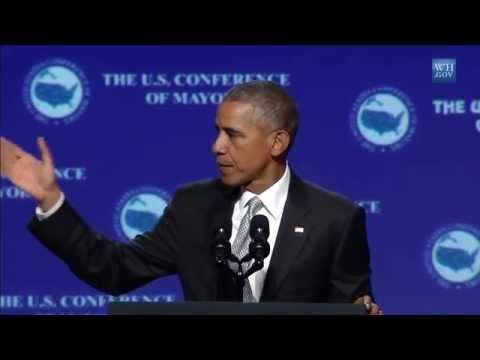 Obama Speaks To Mayors in Las Vegas- Full Speech