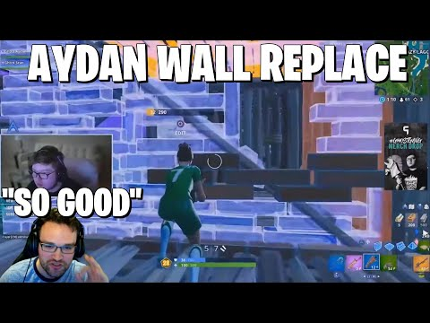 Learning Ghost Aydan's AMAZING Controller Wall Replace **Fortnite Console Tips**