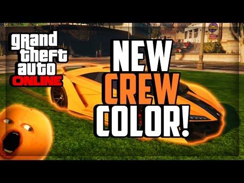 GTA 5 Online Paint Jobs - Best Rare Modded Crew Colors #12