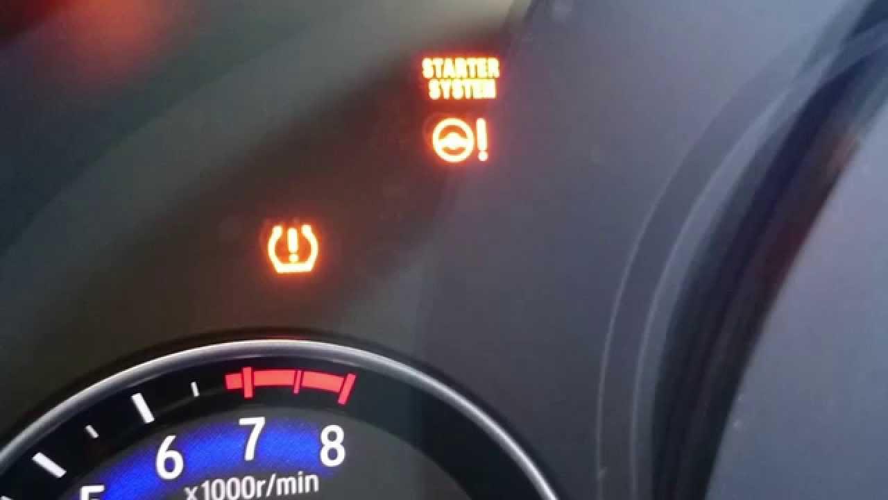 Hyundai Tucson Tire Pressure Light Reset
