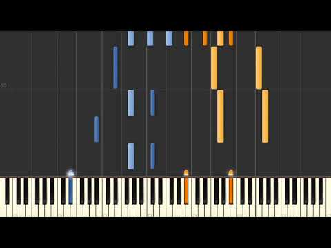 Fiddler on the Roof (as played by Raimond Pauls) - Piano tutorial