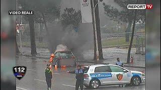 Emisioni 112, ep 12 - Dy makina 'shpërthejnë' në flakë në Tiranë, pamjet ekskluzive të momenteve