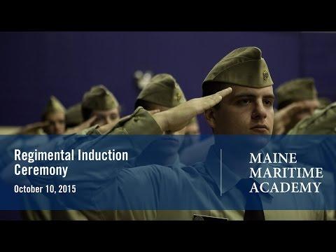 Regimental Induction Ceremony