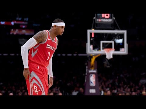 Carmelo Anthony Informed His Time With Rockets Soon Ending!
