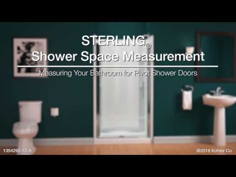 Measuring Your Bathroom For STERLING Pivot Shower Doors