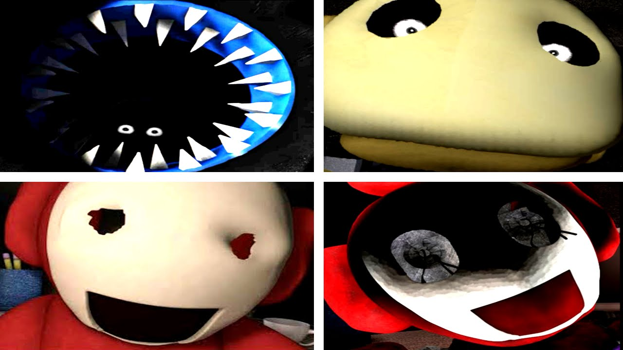 Five nights at tubbyland 2 jumpscares youtube