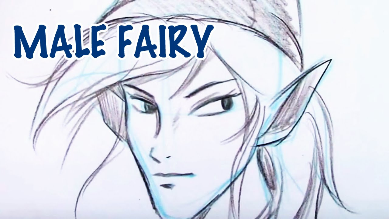 draw a male fairy youtube