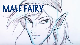 Free How to Draw a Male Fairy (Step by Step): Christopher Hart Shows How to Draw for Free