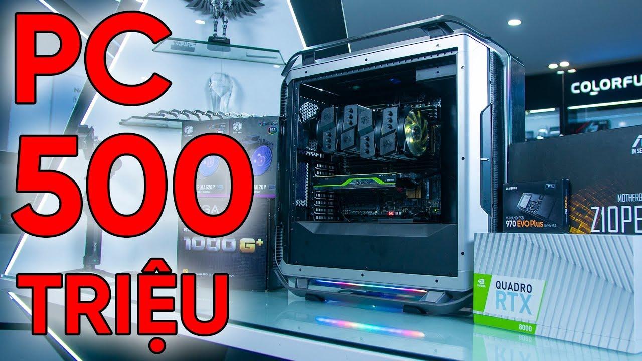 PC 500 TRIỆU Có Gì HOT??? – Quadro RTX 8000 – Dual XEON