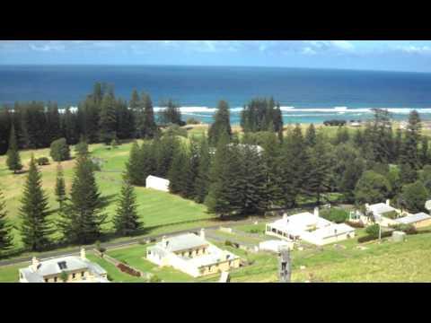 Norfolk Island Trip Day 2 View across Kingston