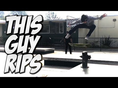 LEONARD CASTORENA KILLS IT ON A SKATEBOARD !!! - NKA VIDS -