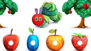 My Very Hungry Caterpillar - Cute Worm eat fruits