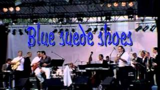 Django Reinhardt u. German Corner Big Band, Blue suede shoes