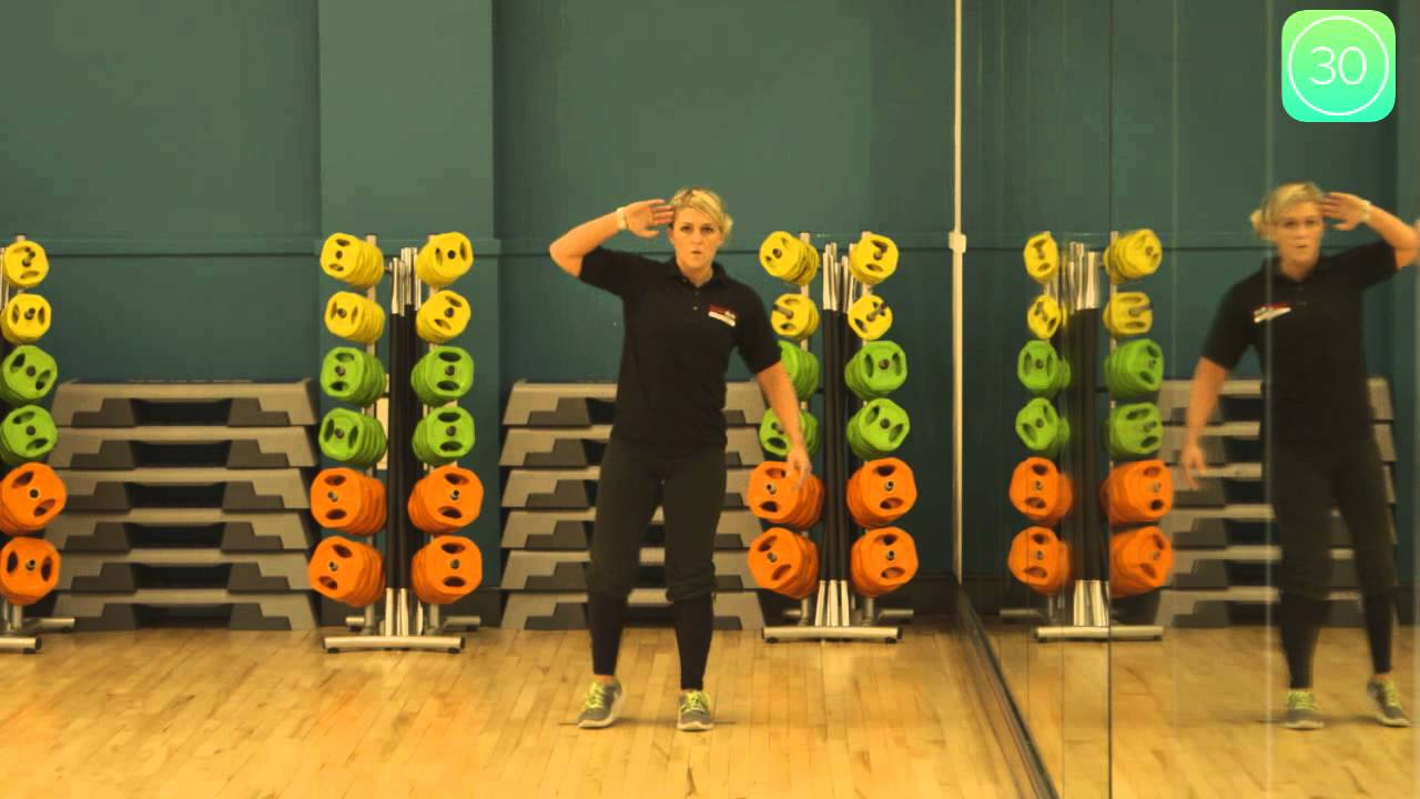 how to do the standing side crunch exercise youtube