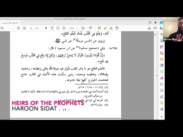 4. Part Four: The Heirs of the Prophets - Knowledge of the Tongue and the Heart