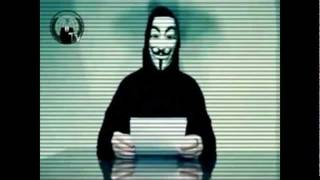 Message from Anonymous - Facebook HACK 5. November (Fehlgeschlagen)