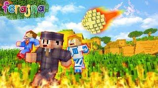 APOKALIPSA NA FERAJNIE! WSZYSTKO PŁONIE!    Minecraft Ferajna