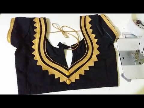 New model Paan Gala blouse  design stitching