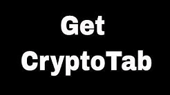Get CryptoTab Free Chrome / Firefox Mining Extension