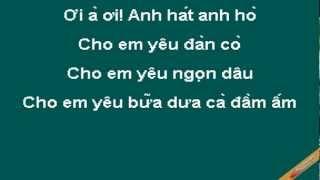 Anh Chang Nha Que Karaoke - Đặng Minh - CaoCuongPro