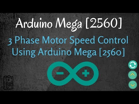 Three phase inverter Arduino 2560 controlled