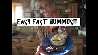 How to Make Hummus That's Better Than Store-Bought - Easy Hummus Recipe