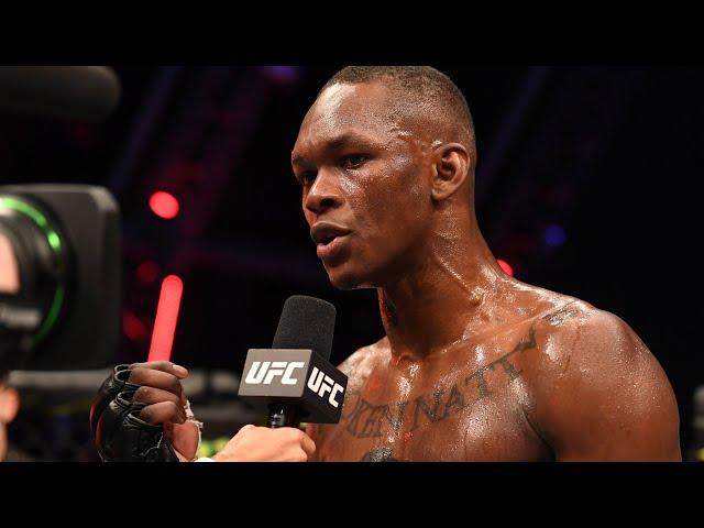 Entrevista de octógono com Israel Adesanya | UFC 253