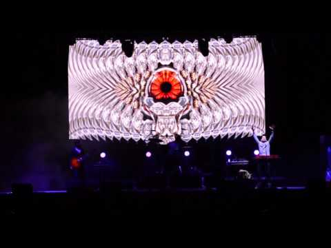 Steven Haman Visual set at Gem and Jam Festival 2017