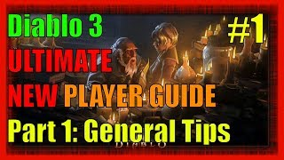 Diablo 3 Ultimate New Players Guide Part 1 General Tips