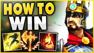 HOW TO WIN EVERY GAME AS SEASON 9 TRYNDAMERE! ULTIMATE TOP LANE CARRY GAMEPLAY! - League of Legends