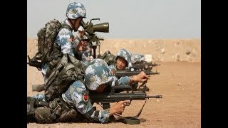 PLA Djibouti Base Holds First Live Ammunition Shooting Drill
