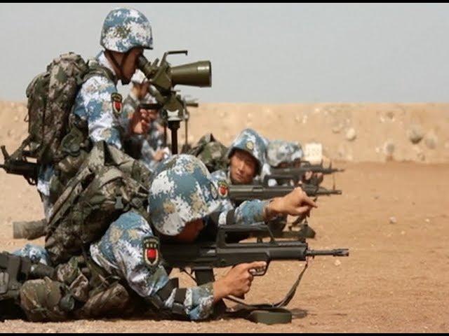 Çin, ilk denizaşırı askeri üssünde tatbikata başladı