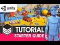 POLYGON Starter Guide for Unity - (Tutorial) by #SyntyStudios : How to get a character moving