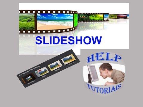 Como criar um slide de fotos com música -  programa para fazer video slide